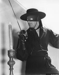 Another childhood crush, Zorro.