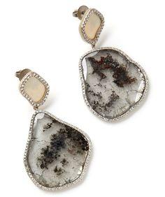 Designer Monique Pean - Fair trade earrings made from exotic, sustainable materials