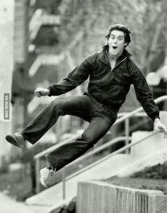 Jim Carrey at age 19
