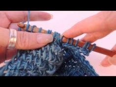 ▶ Tunisian Crochet: Miter Squared Part 2 of 2 - YouTube