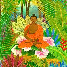 Jennifer Baird - 'Buda en la selva'