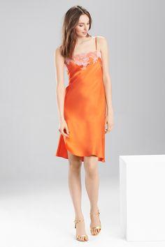 Slip into an elegant silk chemise from Josie Natori. Shop the Lolita now at natori.com