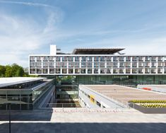 *수평메스가 인상적인 병원건축 [ KSP Jürgen Engel Architekten ] Ulm Surgical Center :: 5osA: [오사]