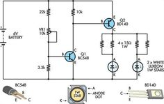 Exit sign with #batteryprotection circuit