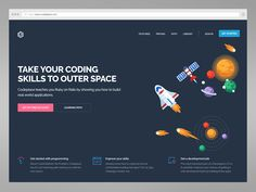 Codeplace Homepage by Henrique Caiano #Design Popular #Dribbble #shots
