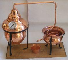 Beautiful Large 5 Litre Copper essential Oil Still Distillation Kit.