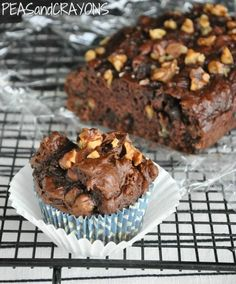 Peas and Crayons: Chocolate Chocolate Chip Pumpkin Zucchini... Brownie Bread?