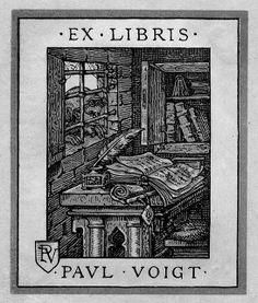 [Bookplate of Paul Voigt]