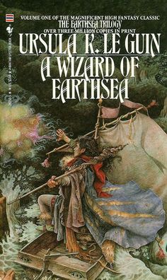 "The Earthsea Cycle, Ursula K. LeGuin    The world of Earthsea first appeared in LeGuin's 1964 story ""The Word of Unbinding,"" but so captivated her (and us) that it expanded into six books and six more short stories. Though the books are satisfying in themselves as simple magical adventure stories, LeGuin's vision has always been a little more complicated than that:"