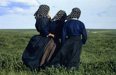 The Amish community in Lancaster County (Pennsylvania), 1974 Photo by Timm Rautert