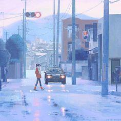 Jun Kamaori's Isolated People in the Landscape – SOCKS