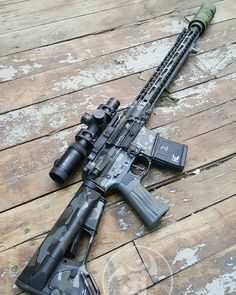 One of my favorite builds. A bunch of friends put in parts to this build. It's a killer 3-gun build. Companies tagged.  #alexandryandesign  Alexandryandesign.com