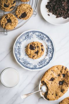 Chocolate Chip Cookies by Faring Well {Vegan Recipe}