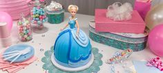 Learn how to make a Cinderella Disney Princess Doll Cake.