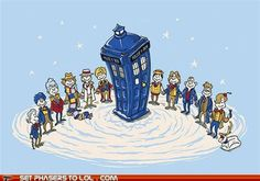 Dr. Seuss' Doctor Who...do you think they visit Whooville a lot?
