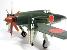 1:72 J7W Shinden III by Zero-Cannard.deviantart.com on @deviantART