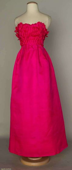 Augusta Auctions, April 17, 2013 - NYC: Jacques Heim Ballgown, 1960s