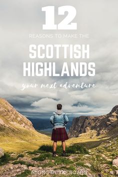 Stunning landscapes, beautiful wildlife, amazing food and a bucket-load of history - there are many reasons that a trip to the Scottish Highlands should be your next adventure, but here are 12 to get you started! Click the pin for the full article.