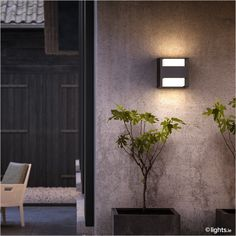 PHILIPS - LED outdoor wall light