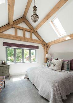 Border Oak Single Storey Master Bedroom