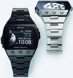 Coming end of 2010: Seiko 'Active Matrix' E-Ink Watch.