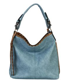 Loving this Blue Grommet Hobo on #zulily! #zulilyfinds