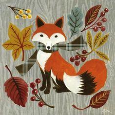The fox in Autumn by Geoff Martin, Levinson Design