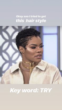 Best Picture For big chop hairstyles afro For Your Taste You are looking for something, and it is go Natural Hair Short Cuts, Short Natural Haircuts, Short Curly Hair, Short Hair Cuts, Natural Hair Twa, Natural Hair Styles, Big Chop Hairstyles, Twa Hairstyles, Short Black Hairstyles
