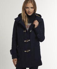 Superdry Boat Duffle - Women&39s Jackets &amp Coats | s h t y l e