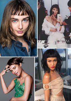 Hair Trend: Franja Curta