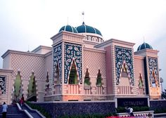 At Taubah Mosque in Jakarta, Indonesia