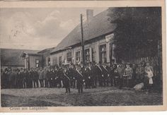 AK Gruss aus Langeböse Kr. Stolp mit Schützenverein 1922 gelaufen sehr gut erh. | eBay