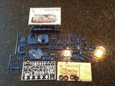 Vintage IMC Mecom LOLA T-70 Model Car Kit