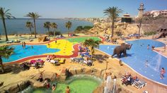 Think of Benalmadena holidays as Costa del Sol with added dolphins! Beach Holiday, Holiday Travel, Premium Hotel, Hotels For Kids, Benalmadena, Holiday World, Cheap Holiday, Holiday Ideas, Spain Holidays