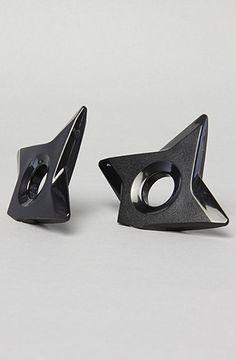 The Ninja Shuriken Magnet in Black (2 Pack) by MollaSpace