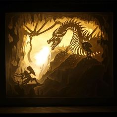 Welcome to my world of paper, light, dreams, and art! am full-time independent artist from Seattle and discovered and started creating dreamboxes in March of The ultimate goal of Kirigami, Shadow Box Kunst, Shadow Box Art, Paper Cutting, Cut Paper, Book Art, Paper Art, Paper Crafts, Foam Crafts