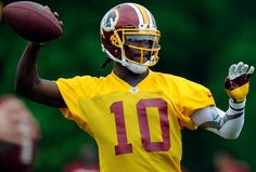 Robert Griffin III ~ Date of birth: February 12, 1990 (age 22), Place of birth: Okinawa Prefecture, Japan,  Height: 6 ft 2 in (1.88 m), Weight: 217 lb (98 kg), Career information  High school: Copperas Cove (TX),  College: Baylor, NFL Draft: 2012 / Round: 1 / Pick: 2, 2012