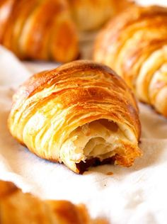 Croissants. Croissants completely made from scratch. Worth every minute.   Full recipe