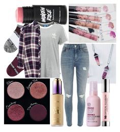 """""""Todo Cambio"""" by my-big-brown-eyes ❤ liked on Polyvore featuring Victoria's Secret, adidas Originals, Pull&Bear, River Island, tarte, The Body Shop and Urban Decay"""