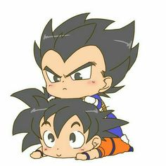 Goku Chibi, Goku Y Vegeta, Chibi Anime, Kawaii Anime, Goku Evolution, Lego Dragon, Goku Drawing, Cute Friend Pictures, Cute Dragons