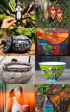 Jungle Christmas by Eleonora Petrova on Etsy--Pinned with TreasuryPin.com