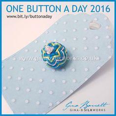 Day 290 : Chevron #onebuttonaday by Gina Barrett