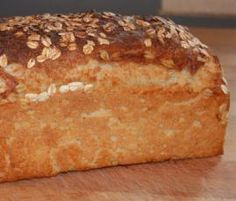 Receita Pão de Forma de Aveia e Iogurte (para formas de 30 cm) por bébé - Categoria da receita Massas lêvedas