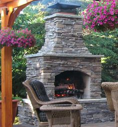 1000 images about stone age manufacturing on pinterest for Pre engineered outdoor fireplace