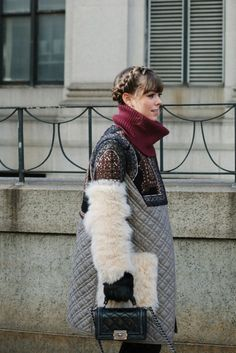 Spotted At NYFW: Furry
