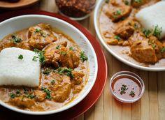 Malse kip in romige saus | Kookmutsjes I Love Food, I Foods, Fries, Recipies, Curry, Yummy Food, Yummy Recipes, Food Porn, Easy Meals