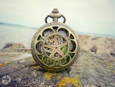 Hey, I found this really awesome Etsy listing at https://www.etsy.com/listing/232032191/antique-bronze-locket-with-real-seastar