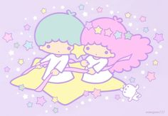 Sanrio Little Twin Stars Sanrio Wallpaper, Kawaii Wallpaper, Iphone Wallpaper, Kawaii Background, Hello Kitty Images, Planner Sheets, Gifs, Character Wallpaper, Kawaii Stationery