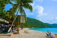 Stanley's Welcome Bar, Cane Garden Bay Tortola, BVI  The ultimate beach bar, Stanley's Welcome Bar lives up to its name.