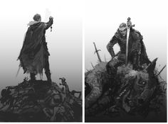 Jason Chan's roughs for the UK and US covers of The Liar's Key.